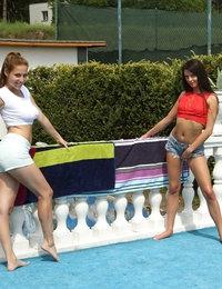Bowling League featuring Anastasia & Antonia Sainz by Als Photographer