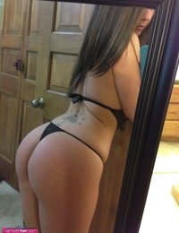 Victoria Raye takes self pics with iphone in lingerie