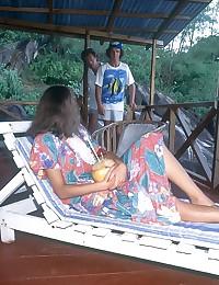 Karina on the Seychelles