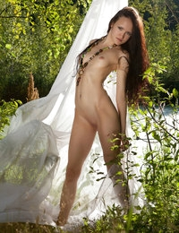 Super hot brunette play a game of passion in the untouched wilderness. She enjoys the touch of nature. Her body seeks for fun.