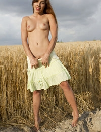 There is nothing better than seeing a hot babe take off her clothes in the nature so you could enjoy a perfect sight.