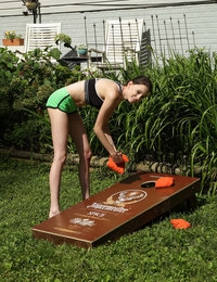 Corn Hole featuring Aria Haze by Als Photographer