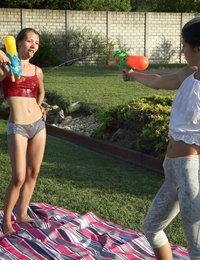 Soak Her featuring Gina Gerson & Stefanie Moon by Als Photographer
