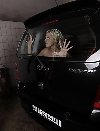 White Angel is not really happy with the car wash service, and Antonio, the car wash guy is not happy with the tone the girl hits with him. Wet, fucked and tied, she regrets to being bitchy earlier..