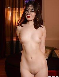 Delicate newcomer You Mi asian beauty masturbates