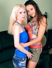 Young 18yo Lesbians for the First Time