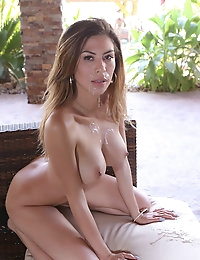 Exotic milf gets rammed by a big cock stud