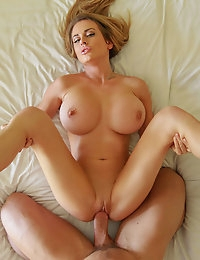 Sexy Blonde had a hot one night stand, and can't get away without a next morning fuck session