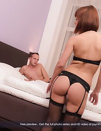 Tina loves to tantalize and tease her lover. Thankfully, he knows she can only do it for so long before she needs him inside of her, so he is happy to indulge her - especially since this little back and forth between them only makes them more exited, which makes it feel even better she gives in... and give in she does. She still likes to tease, and be teased herself, but what she really enjoys is being fucked, and Johny is more than happy to oblige her in that category... ad is as many positions as possible. One of her favorites is being on top, which she enjoys first after giving Johny a bit of special attention. It only get better after that and ends with her making sure Johny doesn't feel teased at all. Come on in and see for yourself just how she does it. Enjoy! :)