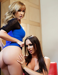 Angela Sommers and Destiny Dixon two hot chicks who love to fuck each other.