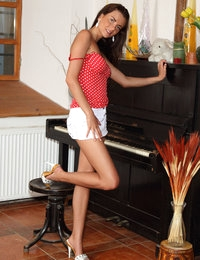 The Pianist featuring Anastasia by Als Photographer