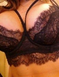 Barbara Belize looks beautiful in black lace
