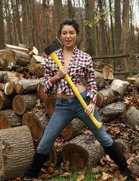 Lumberjill featuring Daisy Haze by Als Photographer