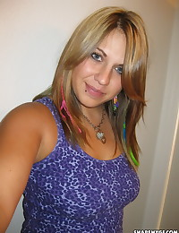 Cute and chubby ex girlfriend gets her selfshot pictures shared by her boyfriend