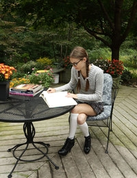 Home Study featuring Tali Dova by Als Photographer