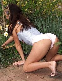 Garden Tool Fun featuring Molly by Als Photographer