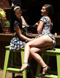 Double Trouble featuring Alaina Kristar & Gia Paige by Als Photographer